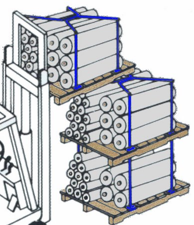 pallet stacking frames